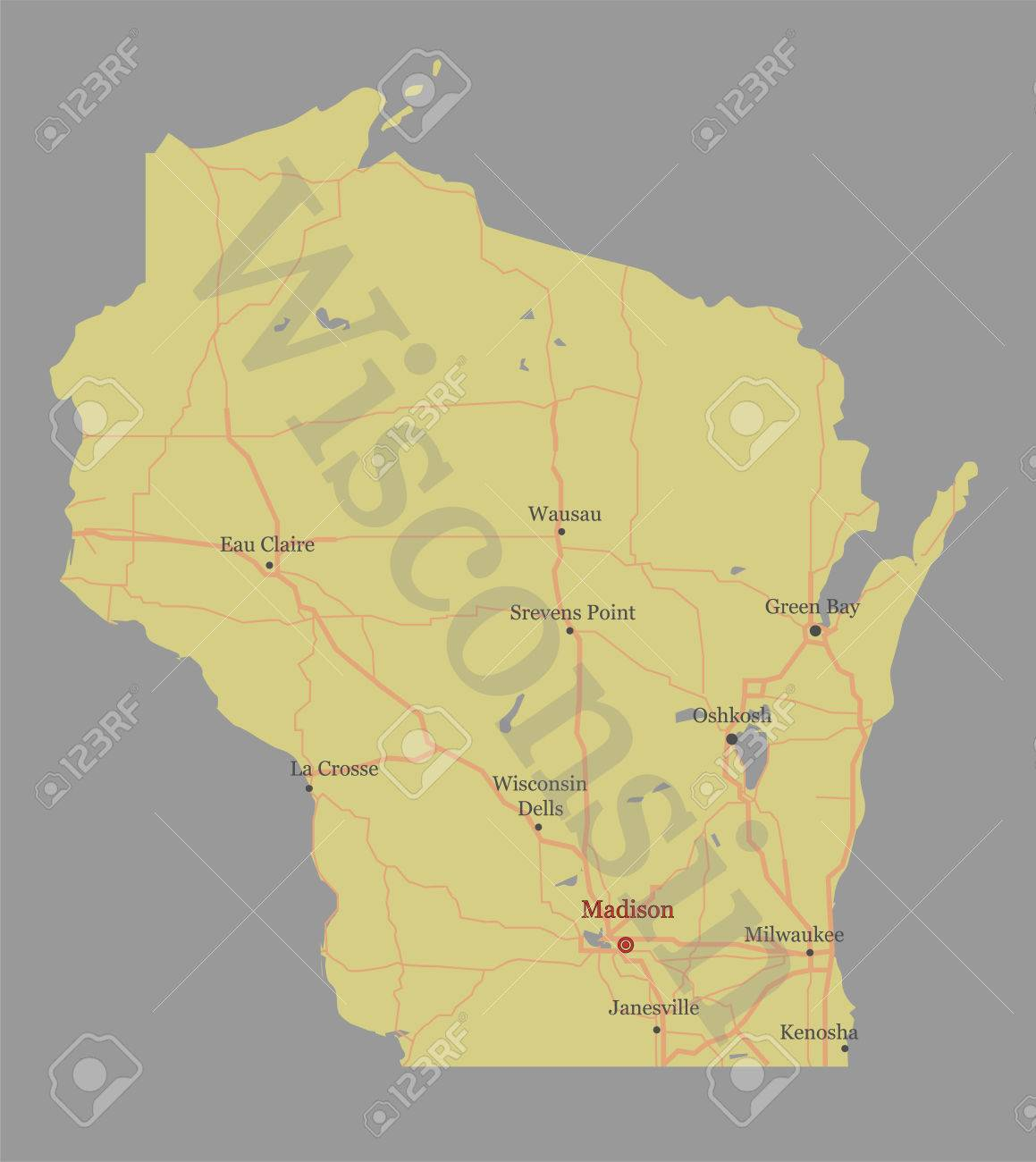 Images Of Wisconsin The United States Map on wisconsin world map, wisconsin indian map, wisconsin map of islands, wisconsin usa map,