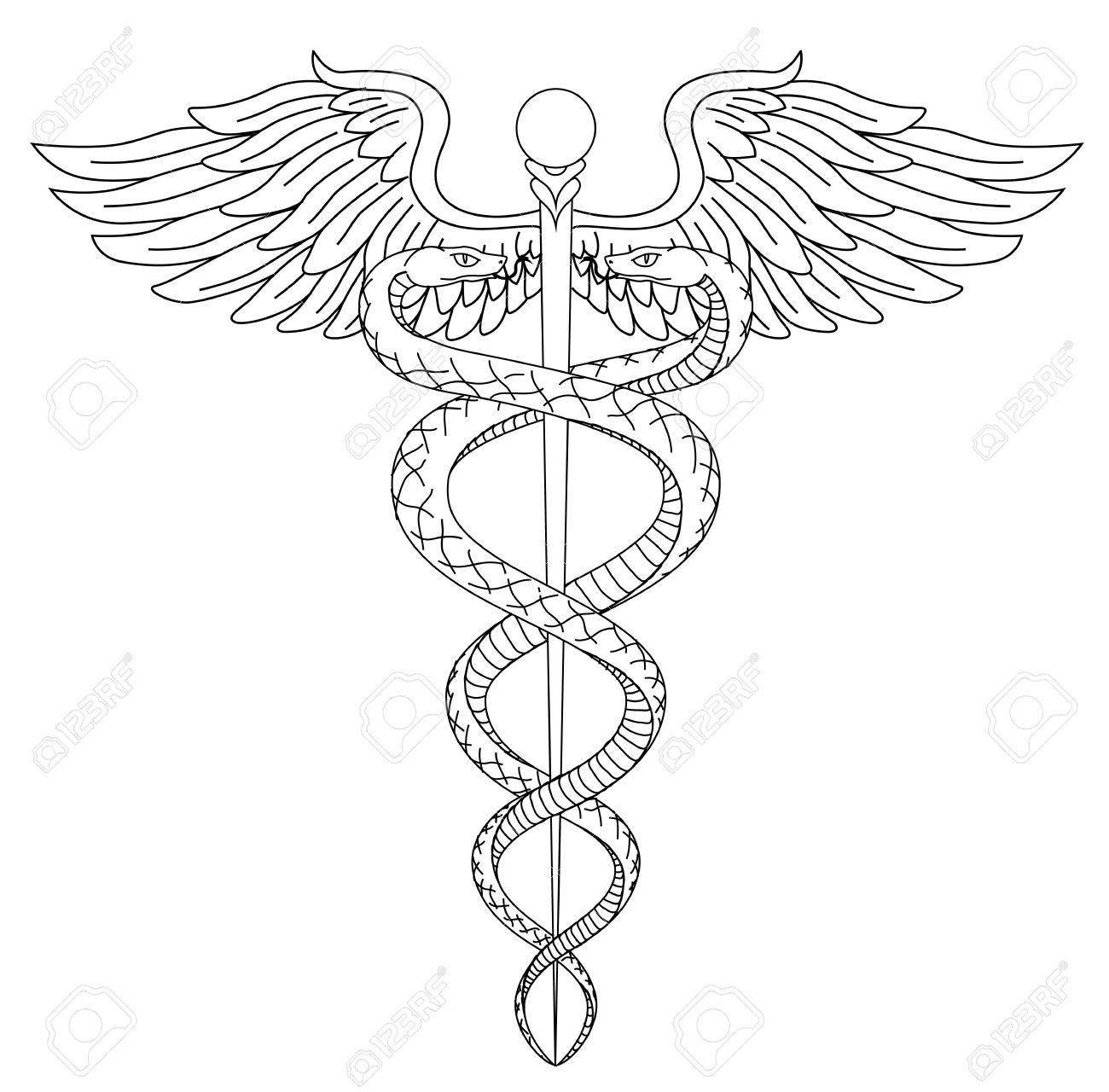 Cadeus Medical Medecine Pharmacy Doctor Acient Symbol Of The