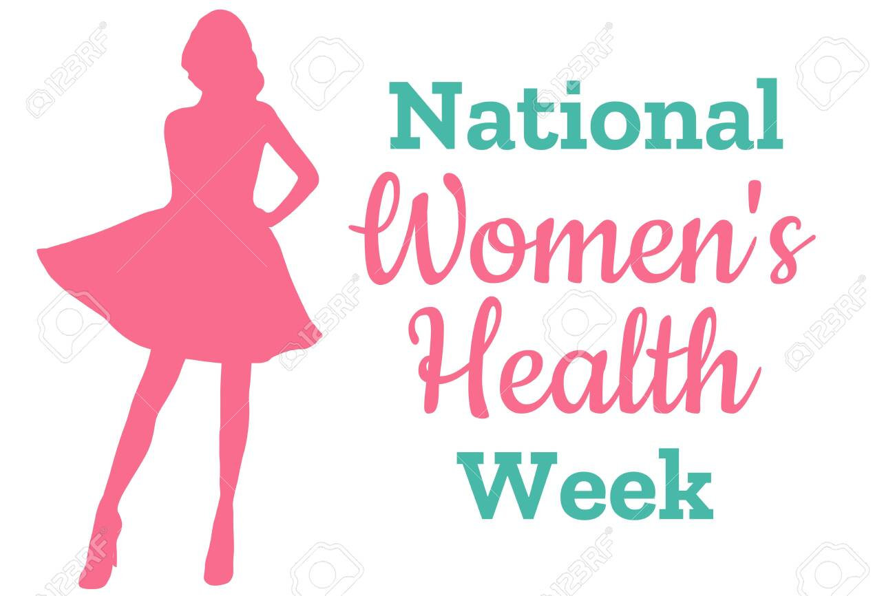 National Women's Health Week. May. Holiday concept. Template for background, banner, card, poster with text inscription. Vector EPS10 illustration - 142618431