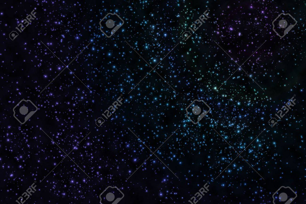 Star on space Stock Photo - 9163765
