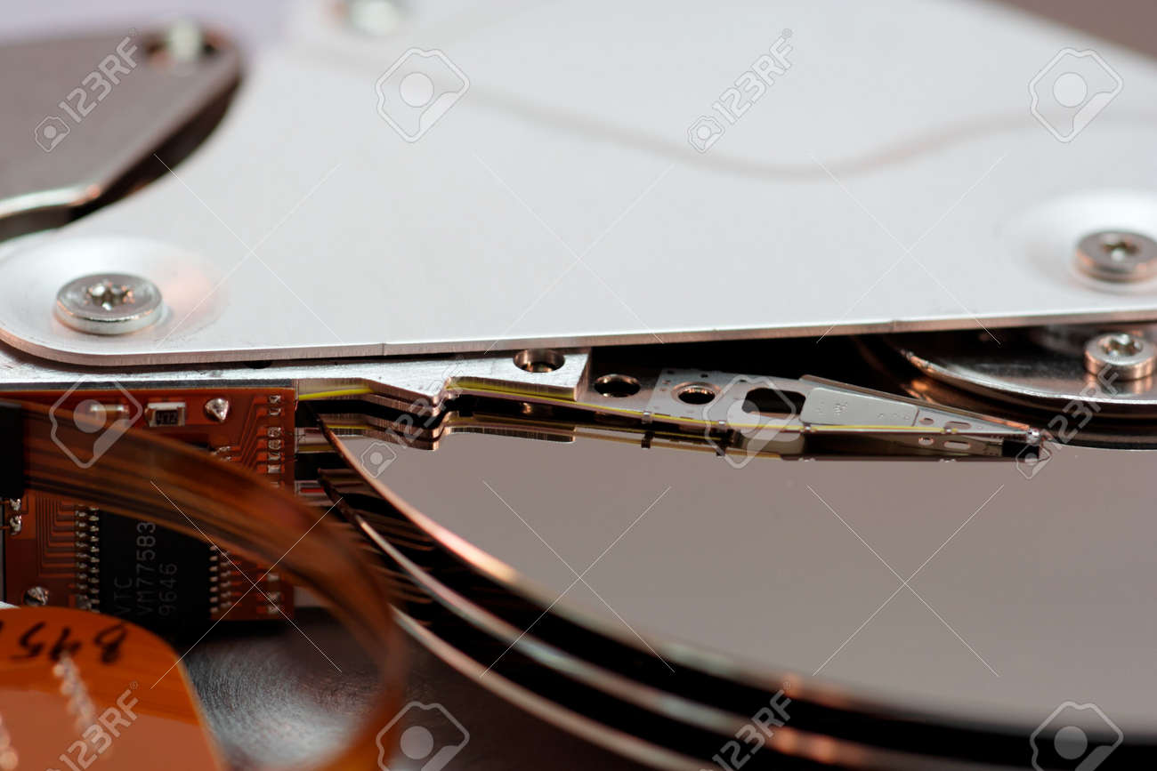 �Close up of a HDD Stock Photo - 833866