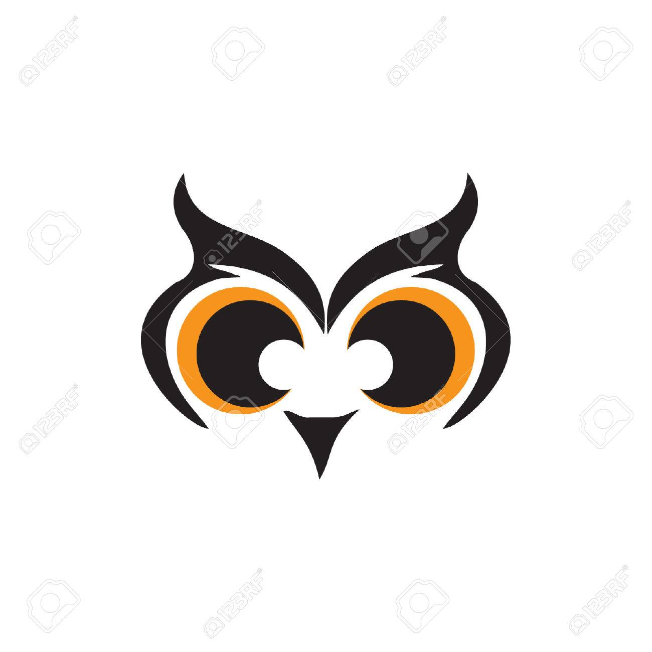 owl eyes royalty free cliparts vectors and stock illustration rh 123rf com cartoon owl big eyes Printable Owl Eyes
