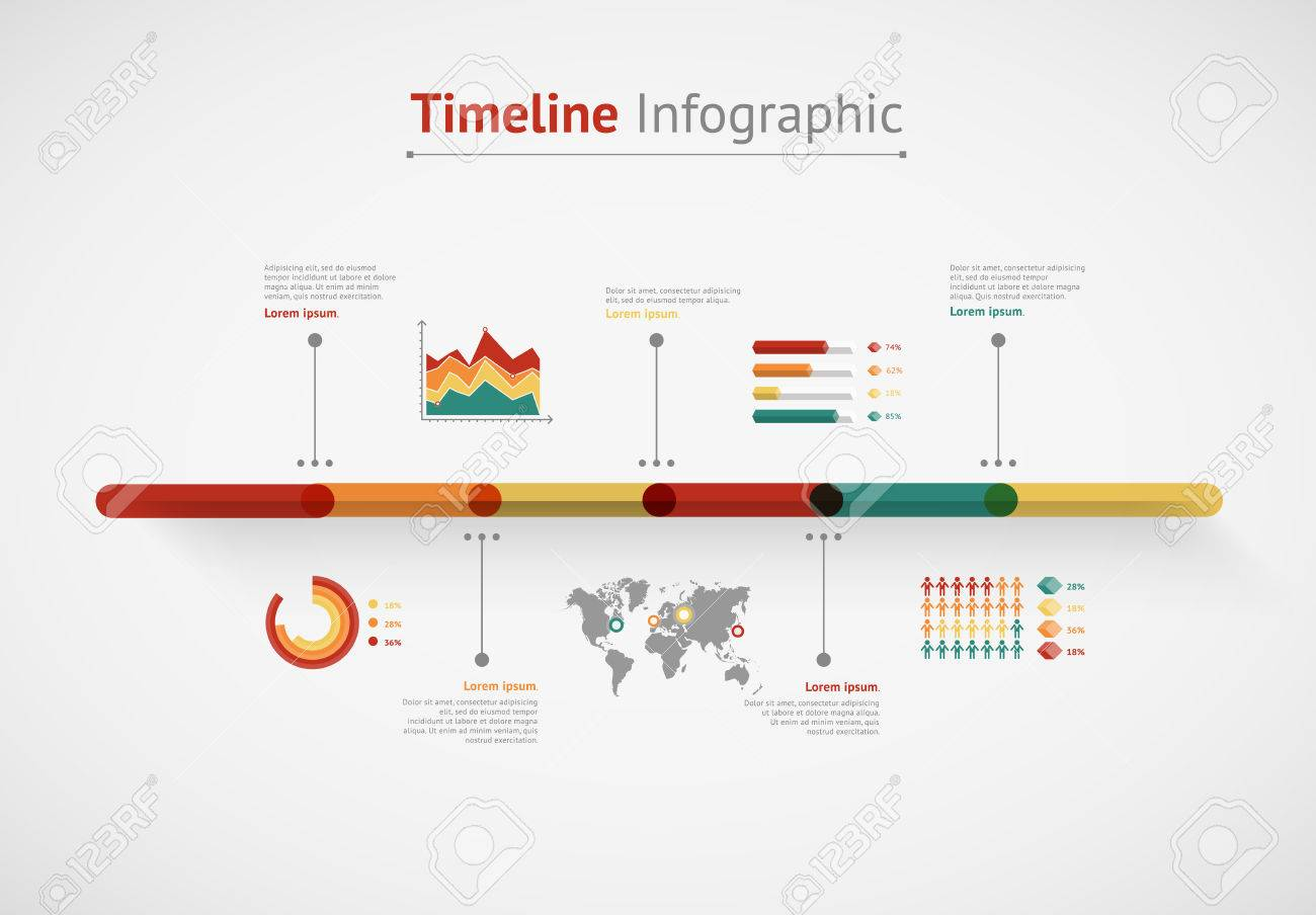Timeline vector infographic world map royalty free cliparts timeline vector infographic world map stock vector 37220711 gumiabroncs Choice Image