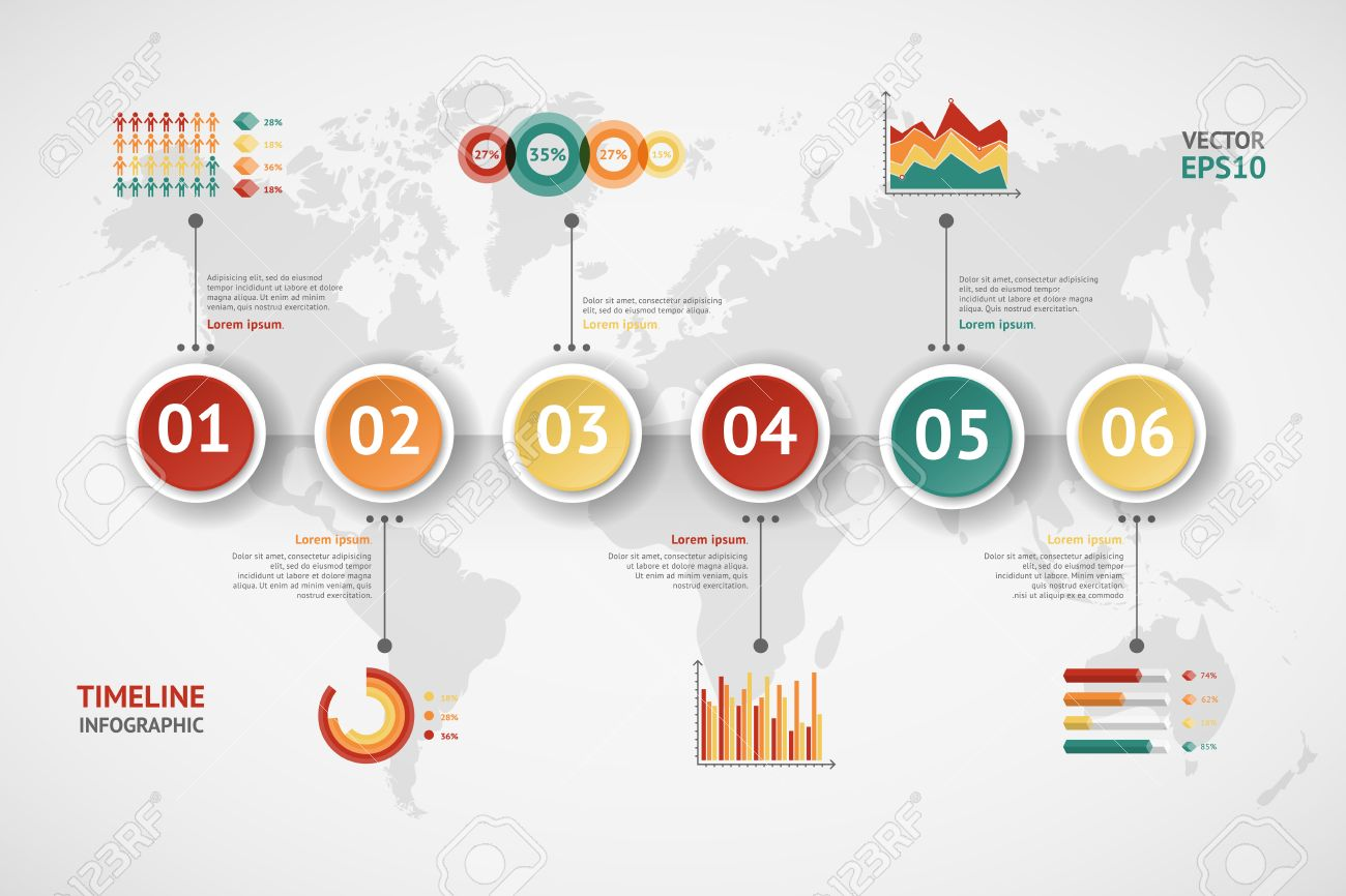 Timeline vector infographic world map royalty free cliparts timeline vector infographic world map stock vector 37220713 gumiabroncs Choice Image