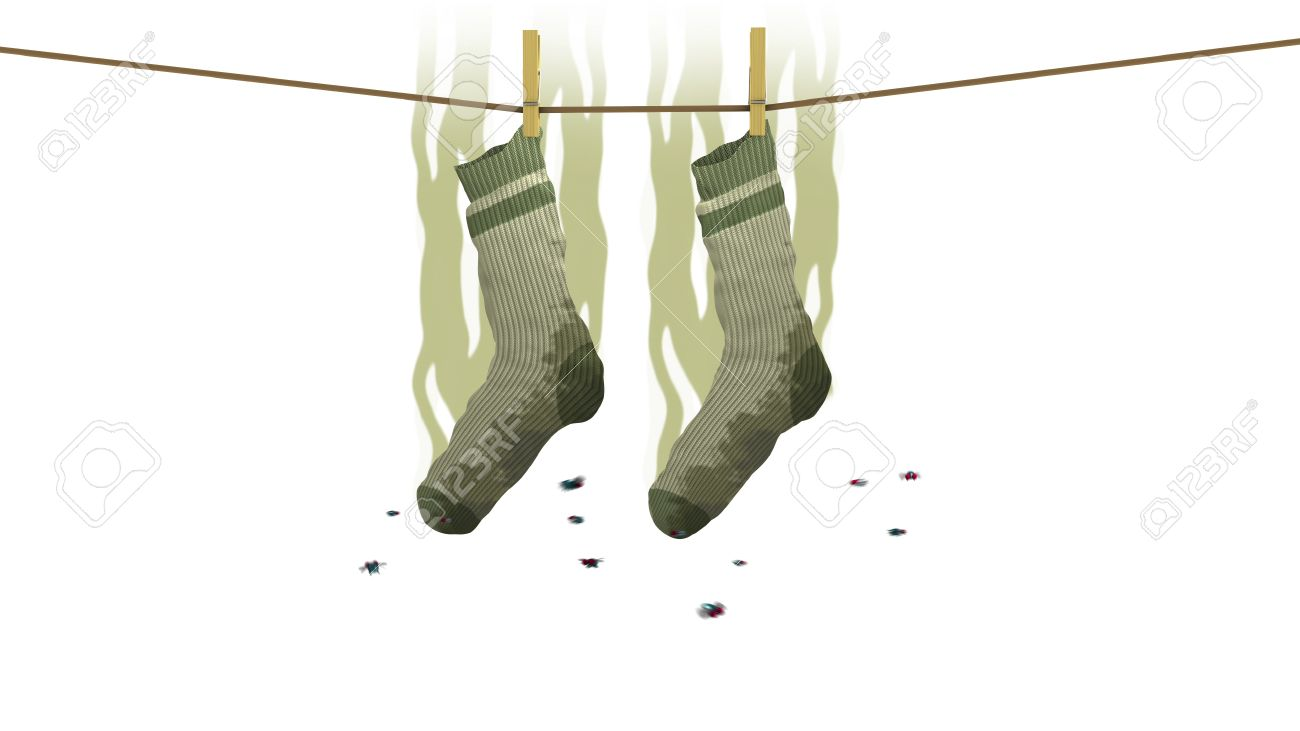 Pictures of smelly socks