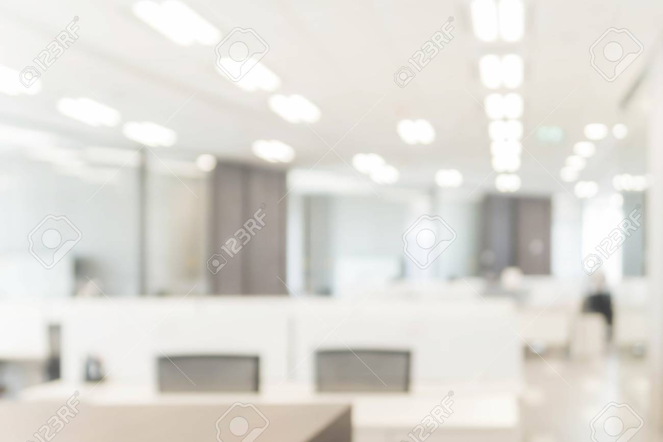 Abstract Blurred Office Interior Space Background   Business Concept Stock  Photo   98223558