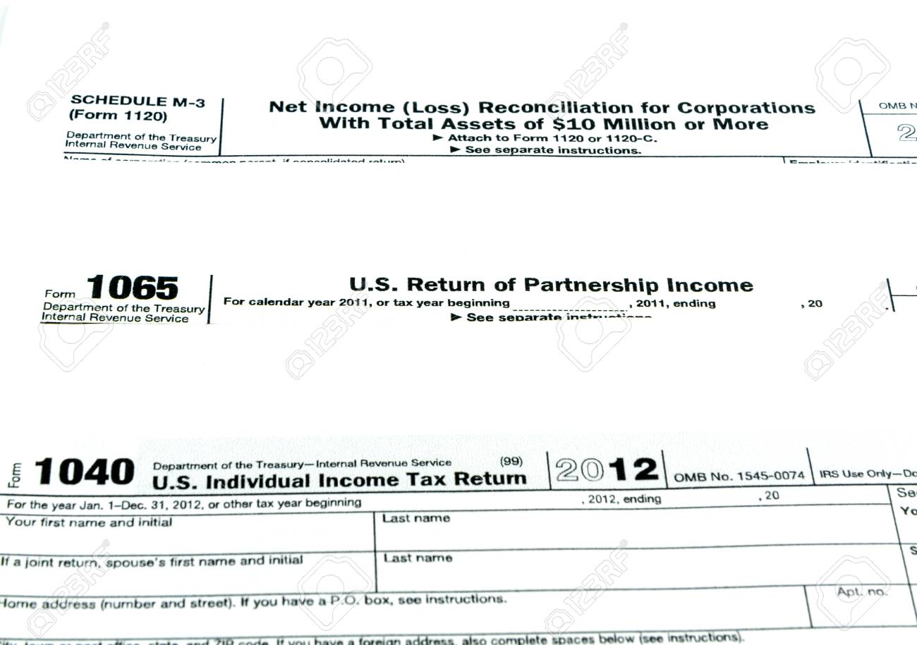 form 1065 and 1040  Tax forms 13,13,13