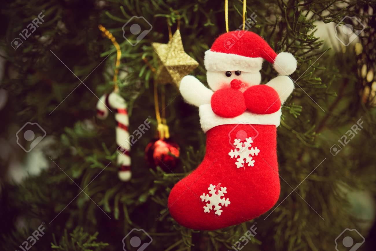 Como Decorar Calcetines Para Navidad.Calcetines De Navidad Utilizan Para Decorar Los Arboles De Navidad Y Otras Decoraciones