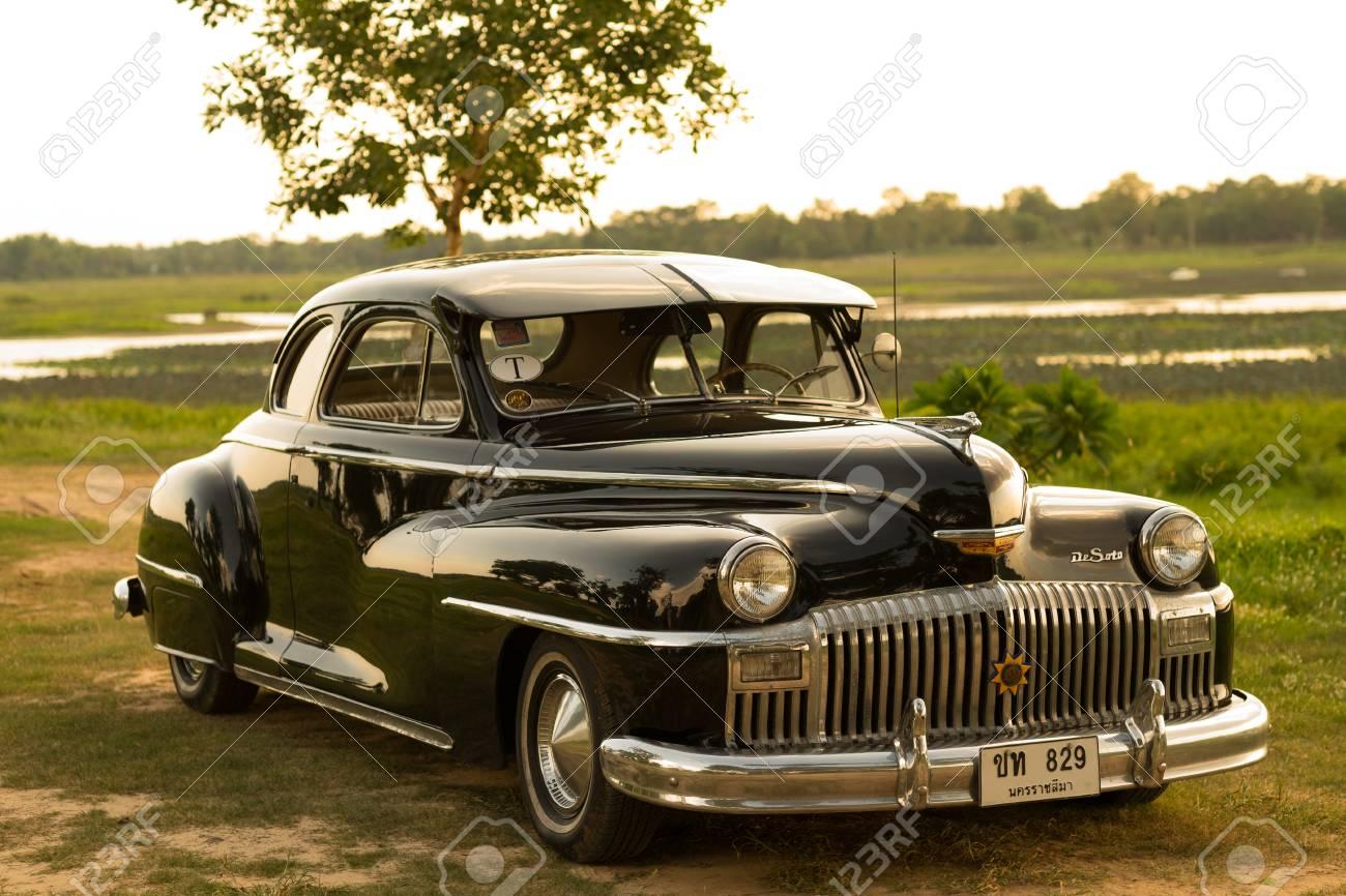 Nakhon Ratchasima, THAILAND - JUNE 13 : Vintage Car Desoto Is ...