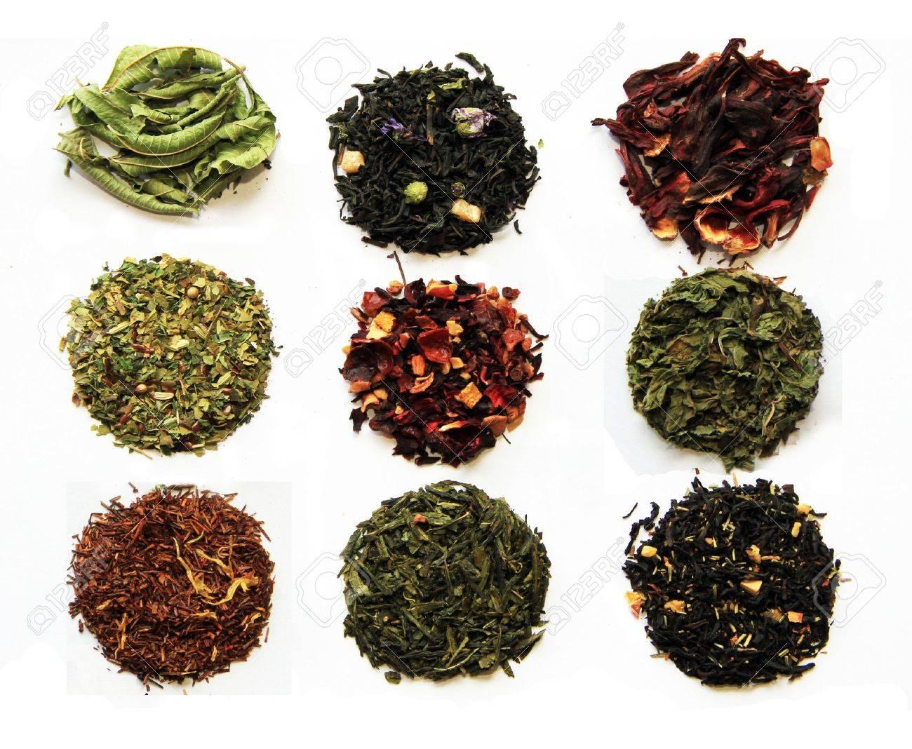 Lieblings Zusammensetzung Der Neun Tees (grün, Schwarz, Kräuter-, Blumen-Tee #TW_73