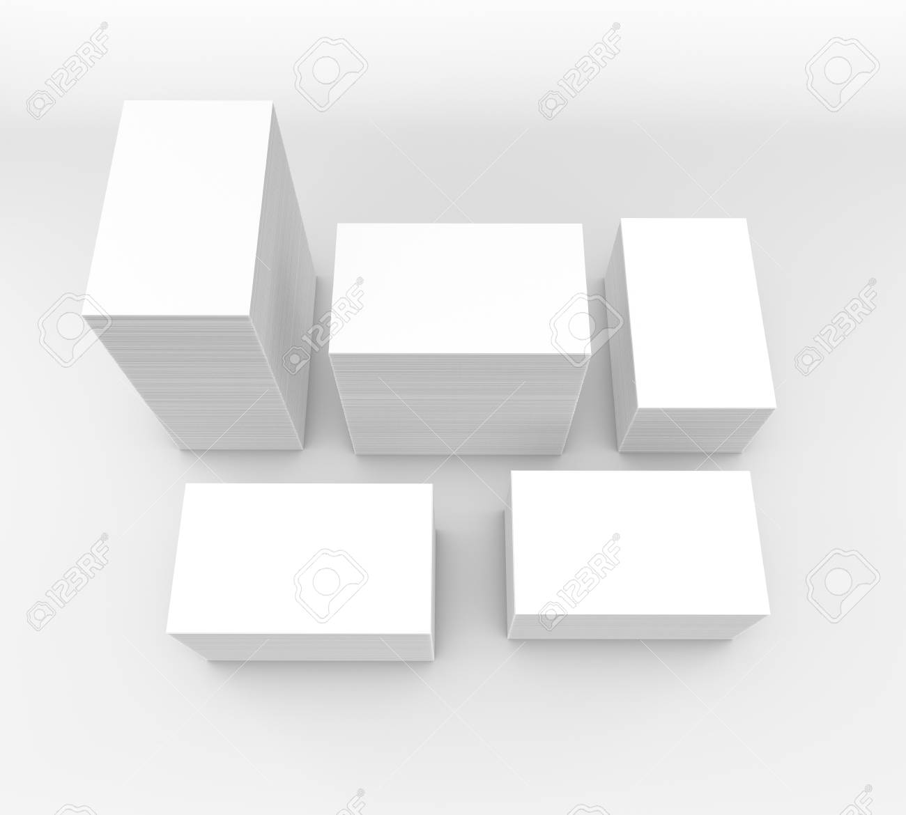 Template To Presentation. Place For Your Design. Many Cards... Stock ...