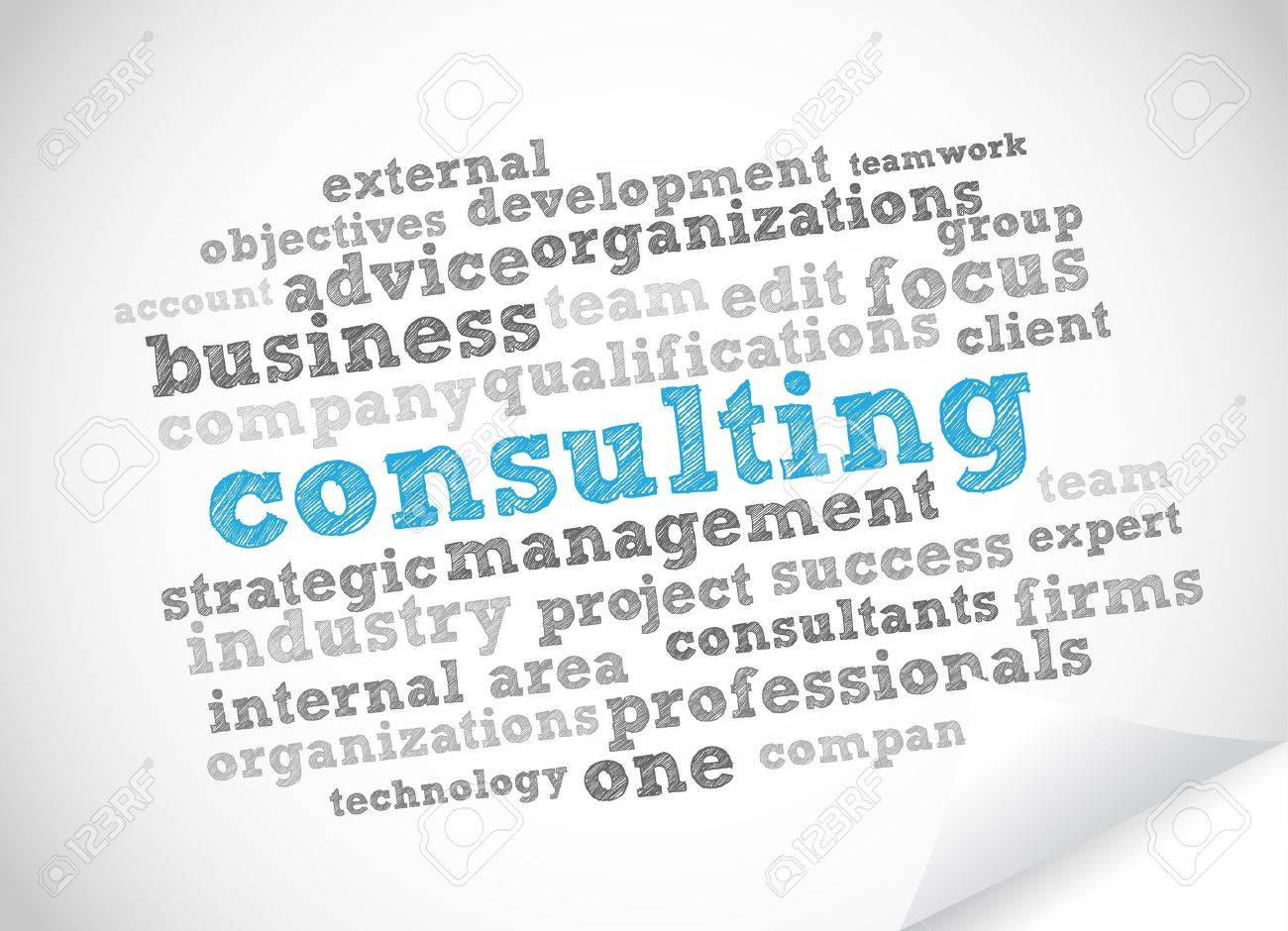 Consulting Stock Vector - 11965887