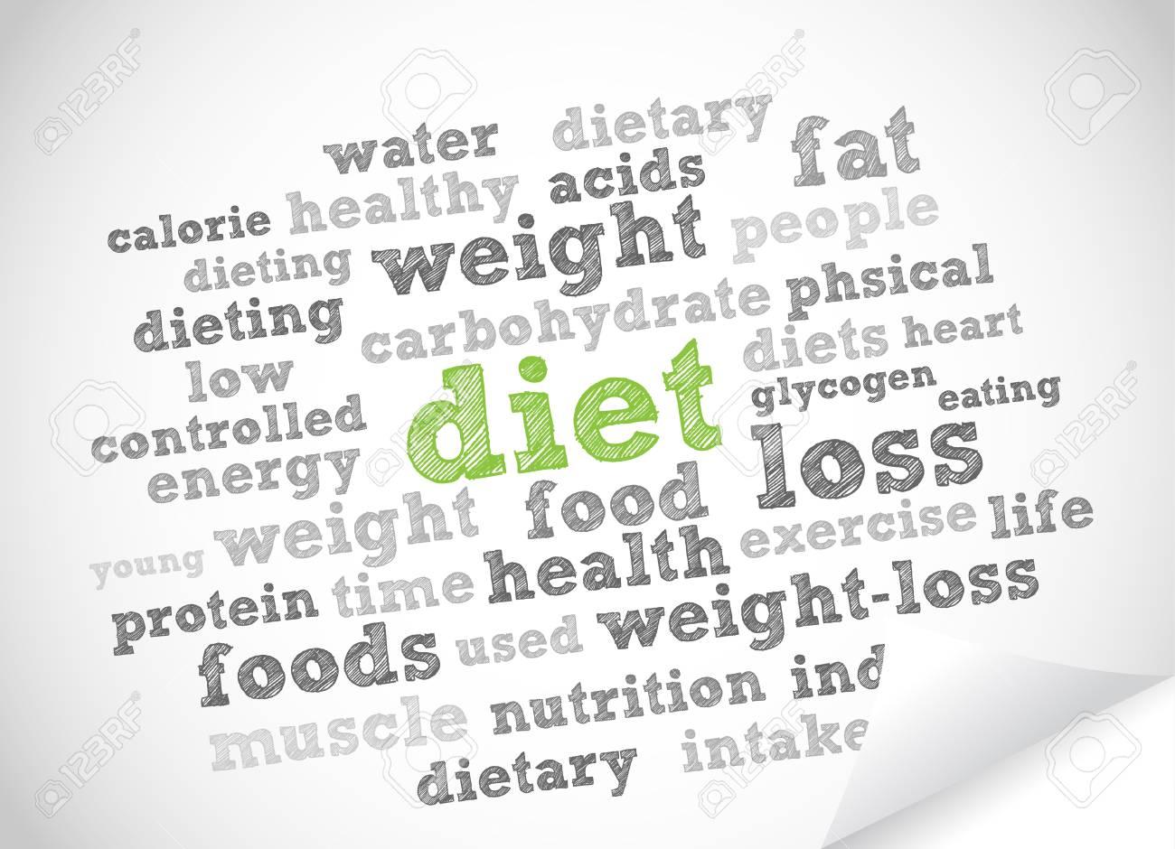 Diet Stock Vector - 11965879