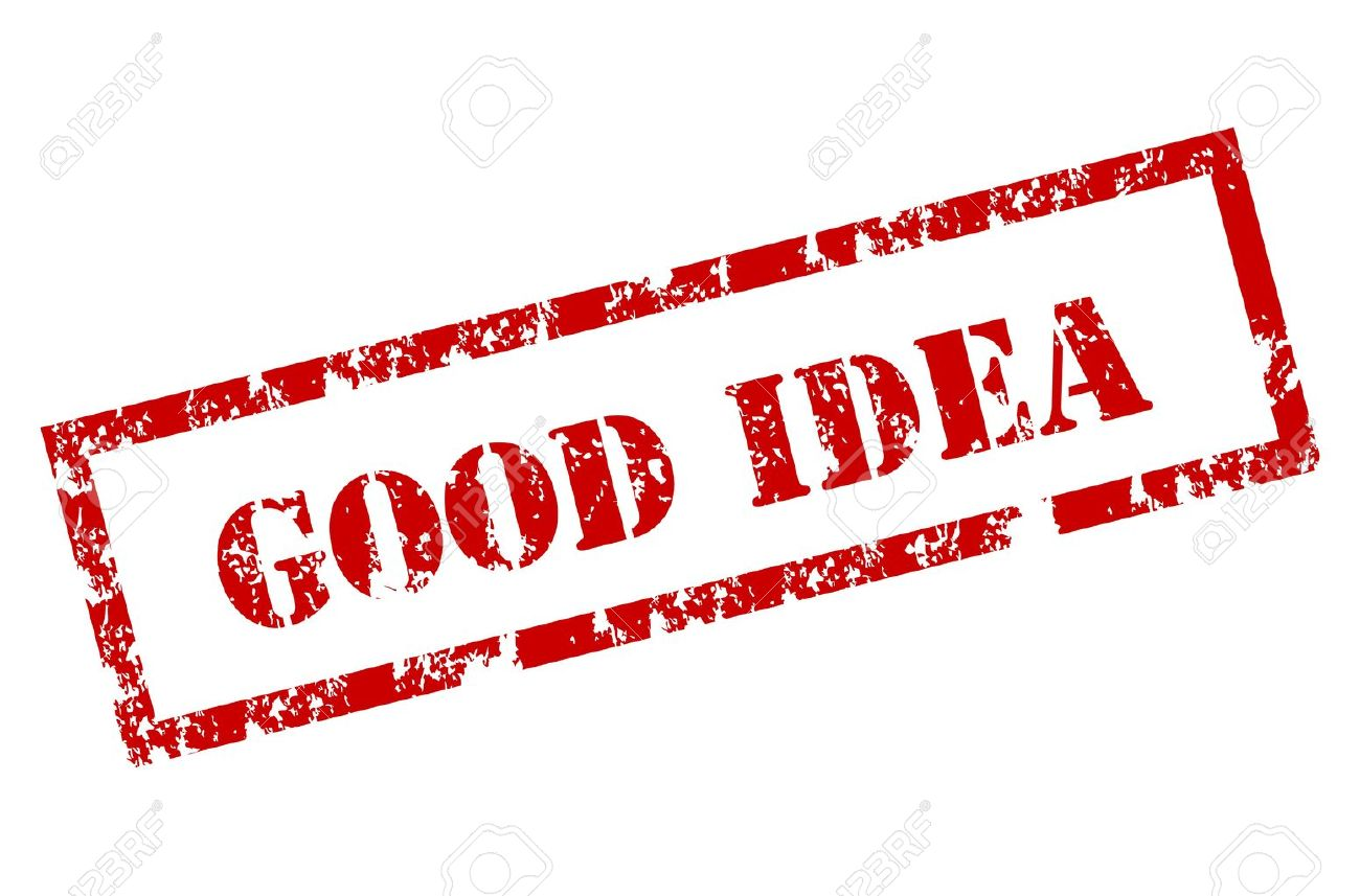 good idea stamp royalty free cliparts vectors and stock
