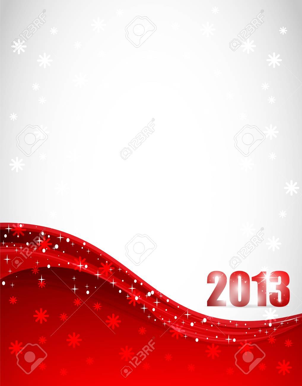 New Year 2013 Stock Vector - 12585671
