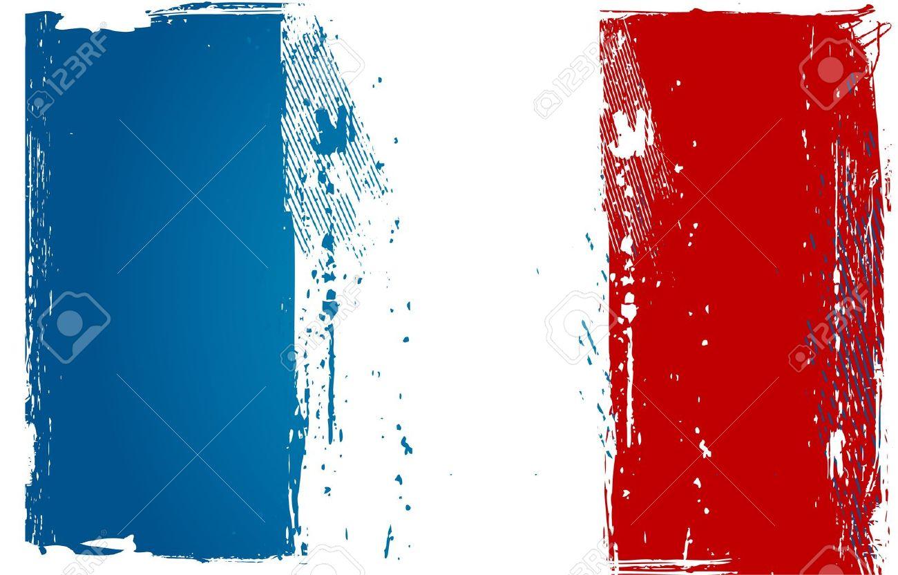 Grunge France Flag Stock Vector - 13773534