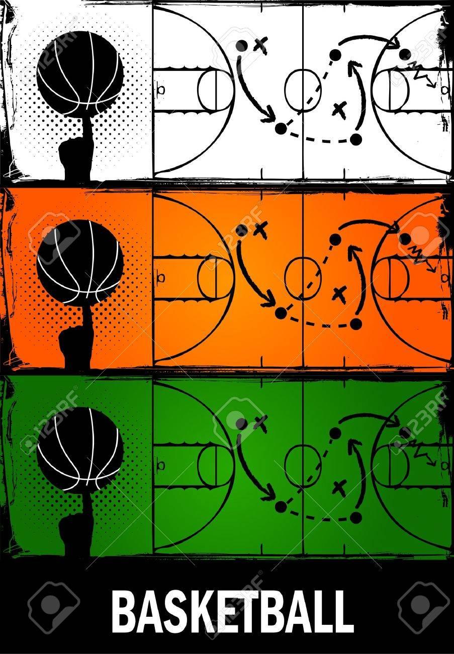 basketball Stock Vector - 14665707