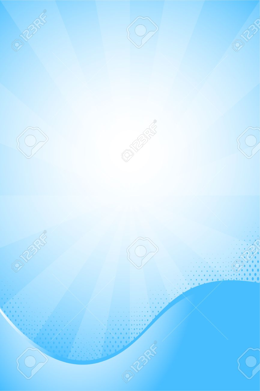 Blue Business Flyer Background Royalty Free Cliparts, Vectors, And ...