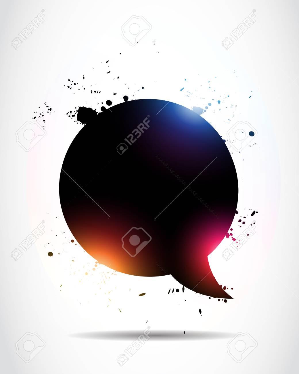 Abstract speech bubble Stock Vector - 15600708