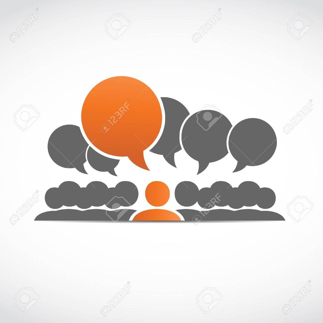 social connections Stock Vector - 15600610
