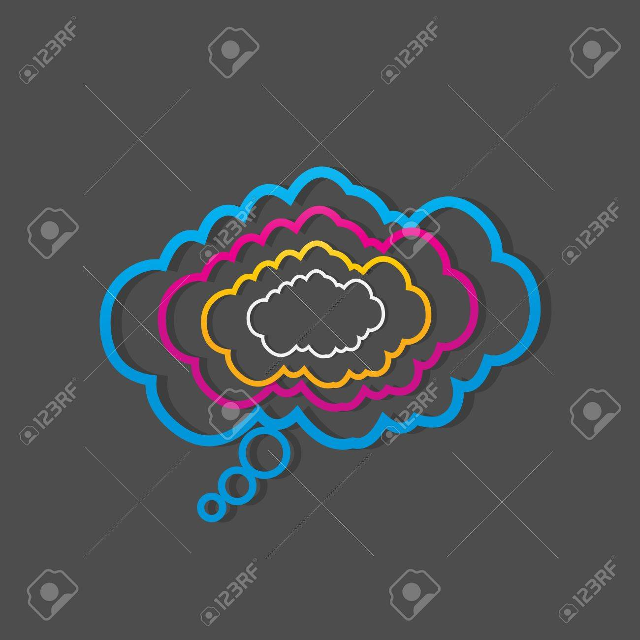 colorful dialog speech clouds Stock Vector - 15874454