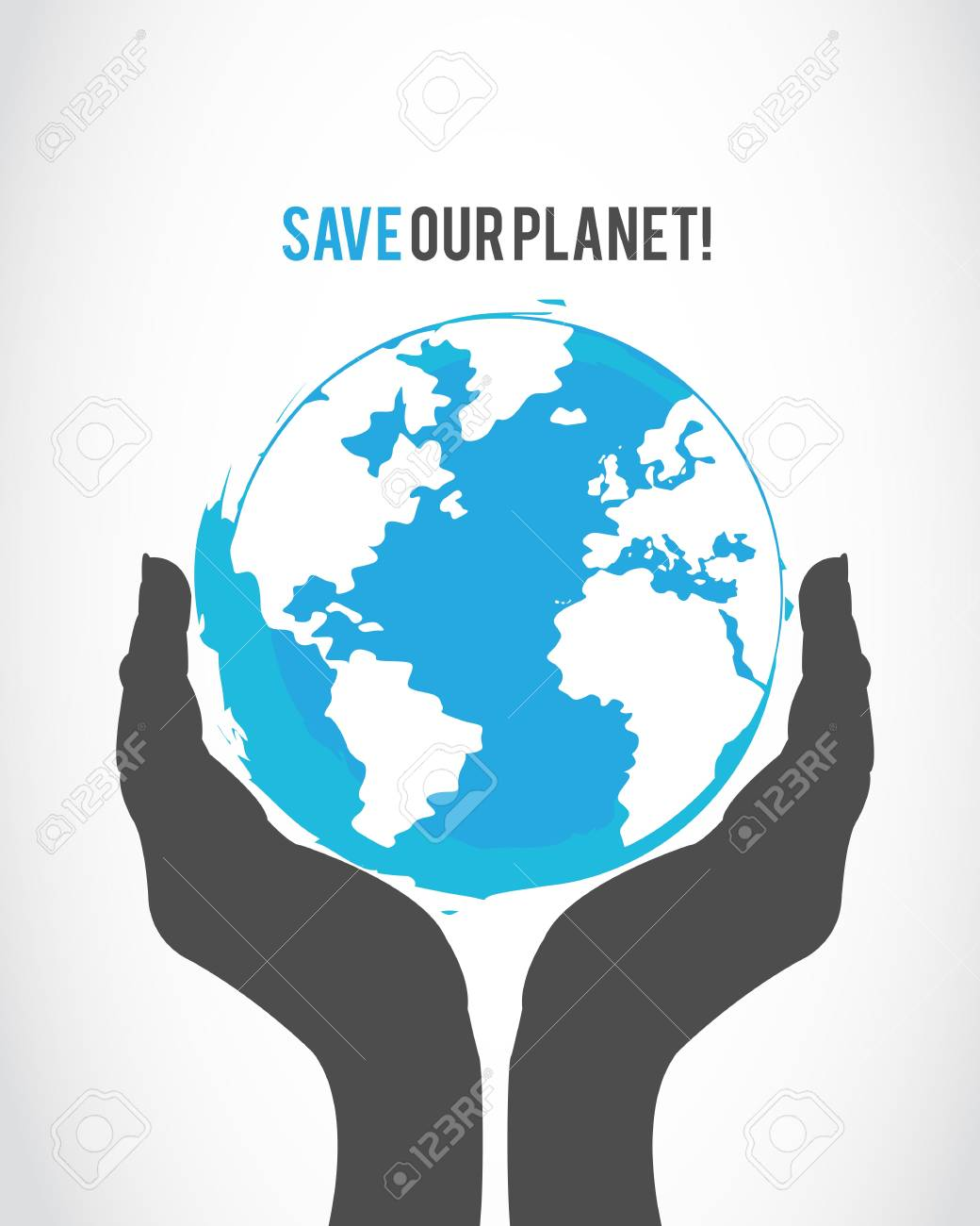 protect the world concept Stock Vector - 16307498