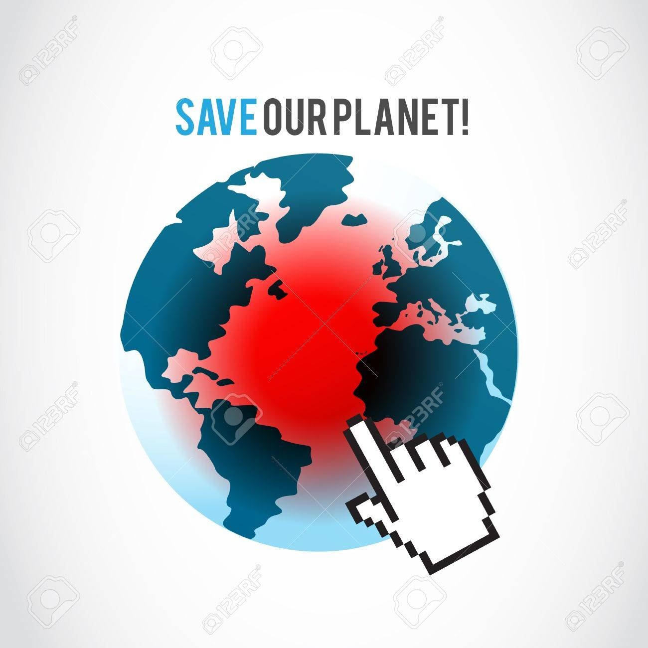 global disaster concept Stock Vector - 16307550