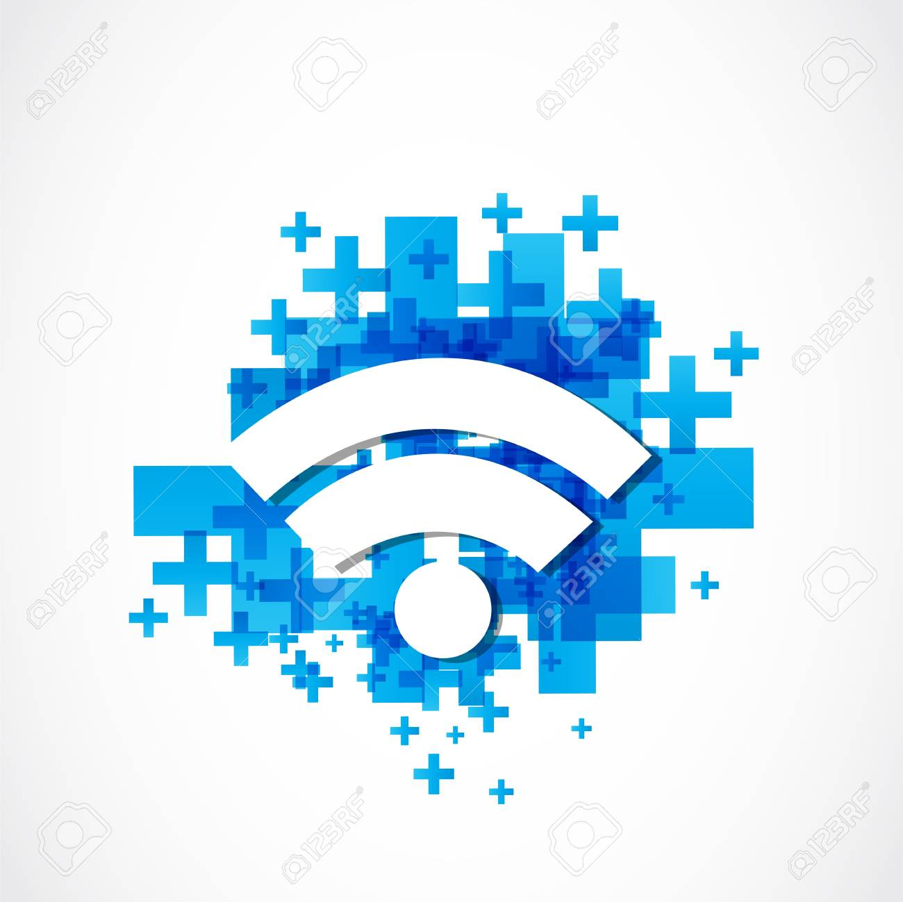 internet wifi Stock Vector - 18150257