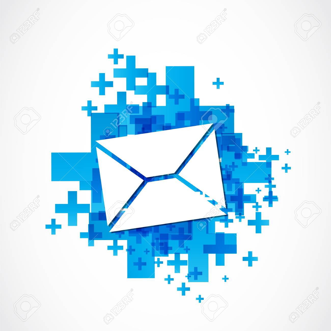positive email sign Stock Vector - 19369994
