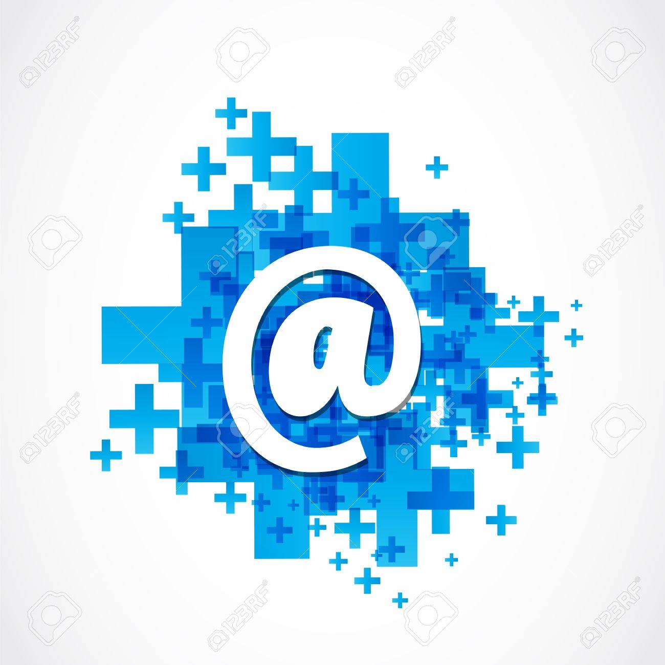 Positive Business Email Stock Vector - 19369935