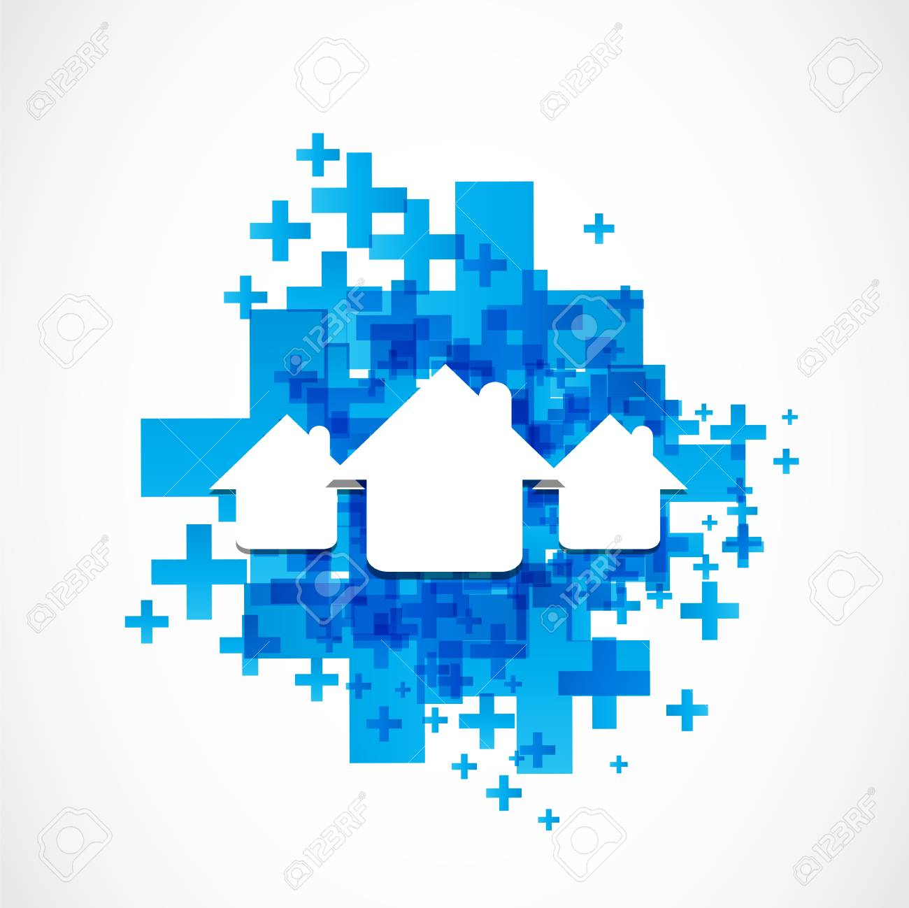 houses Stock Vector - 19369991