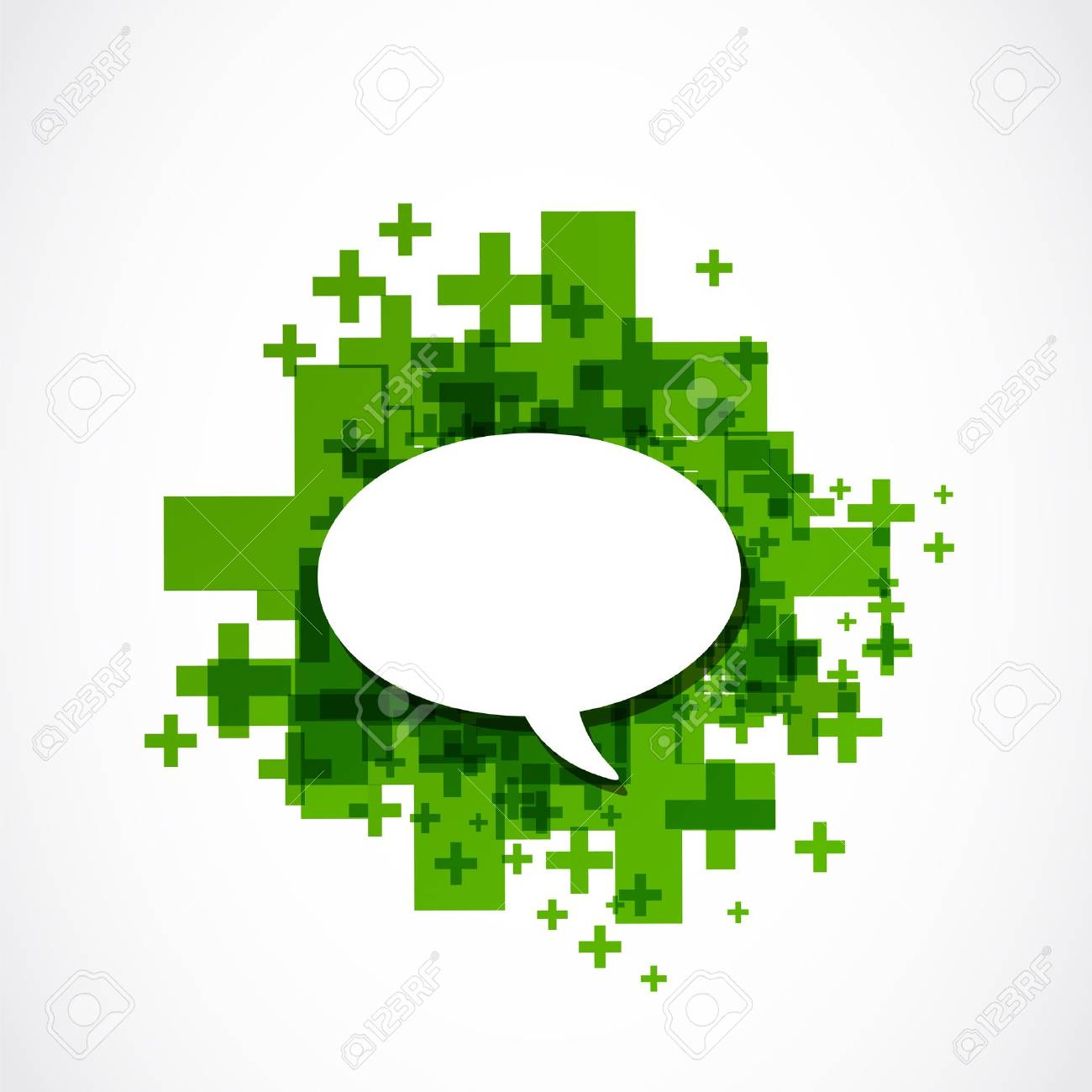 Social Media Speech Bubble Stock Vector - 19370137