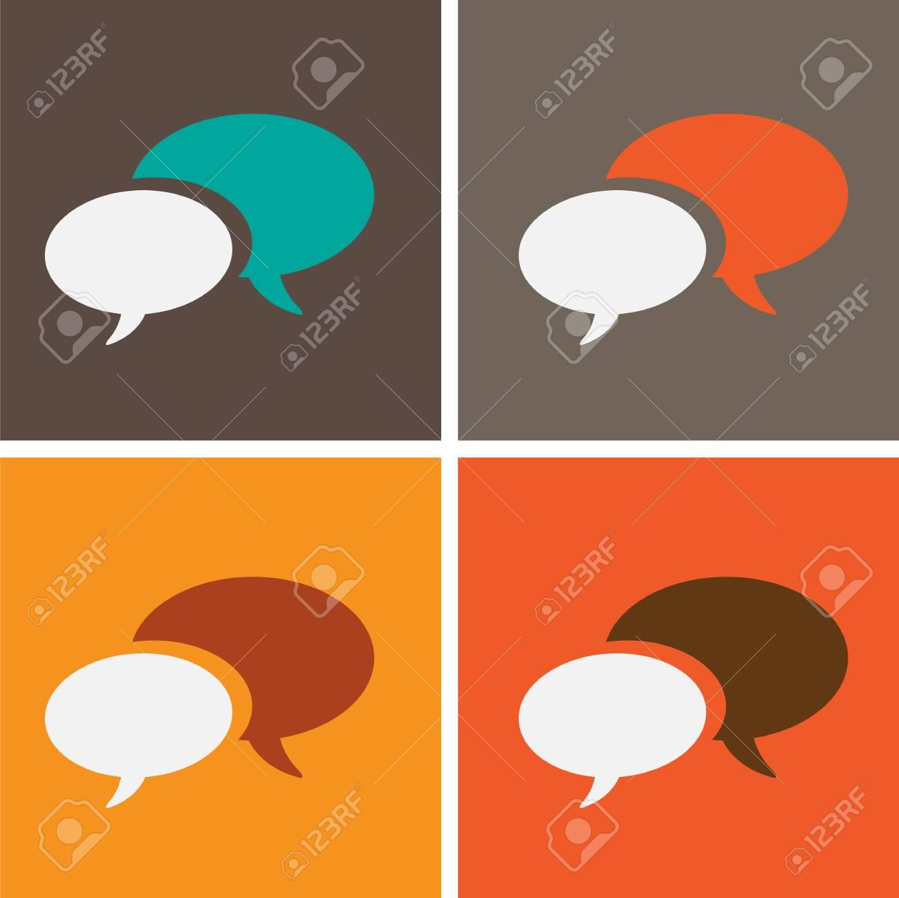 dialog speech bubbles Stock Vector - 21946554