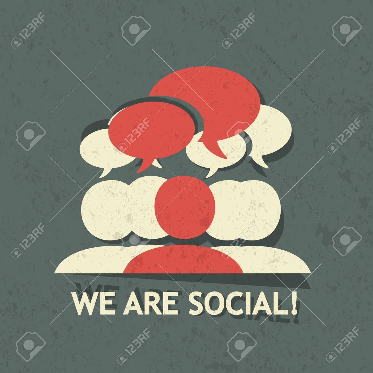 Social Group Stock Vector - 22748770