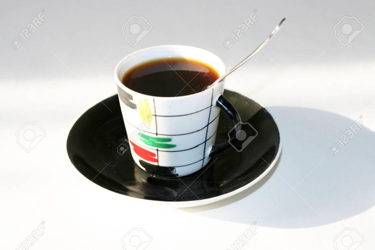 cup matutinal coffee Stock Photo - 3838566