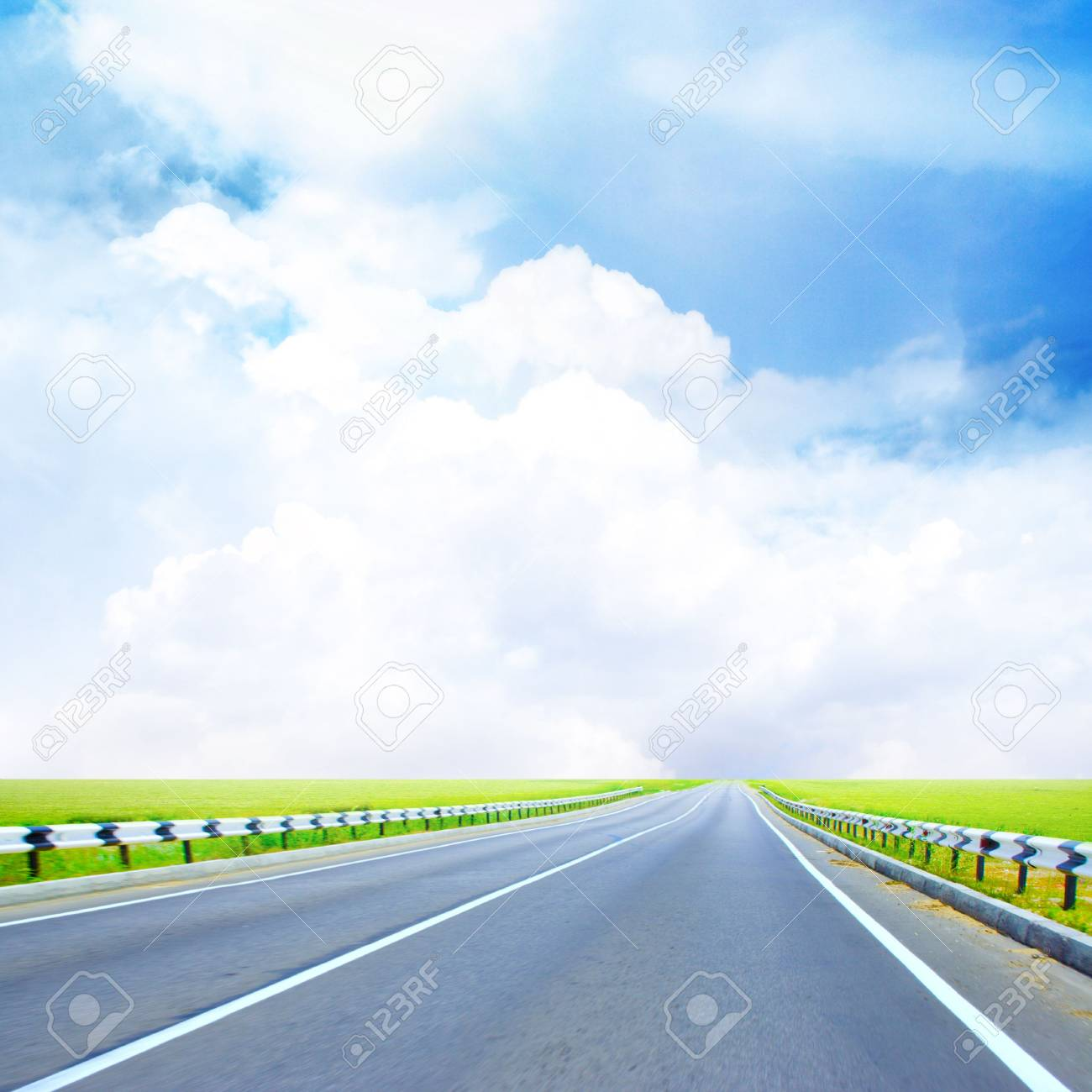 beautiful shining sky on country expensive Stock Photo - 4162110