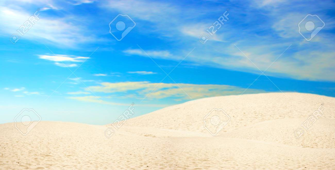 abstract scene with desert Stock Photo - 4399542