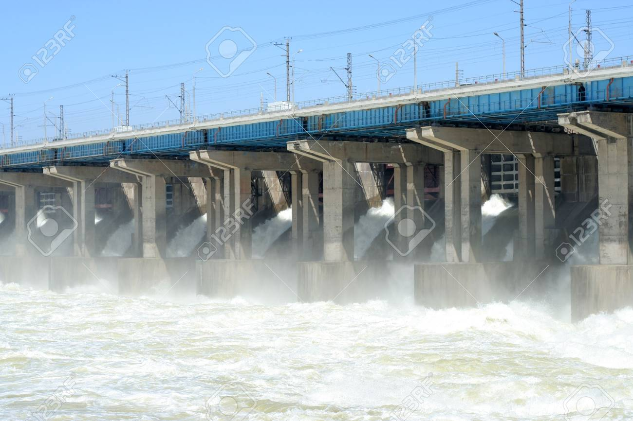 hydroelectric station Stock Photo - 4799293