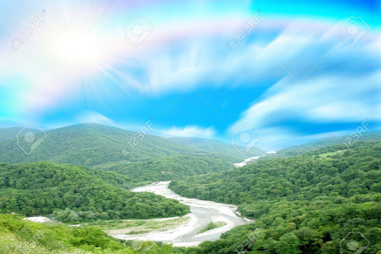 Mountain meadow Stock Photo - 6562518