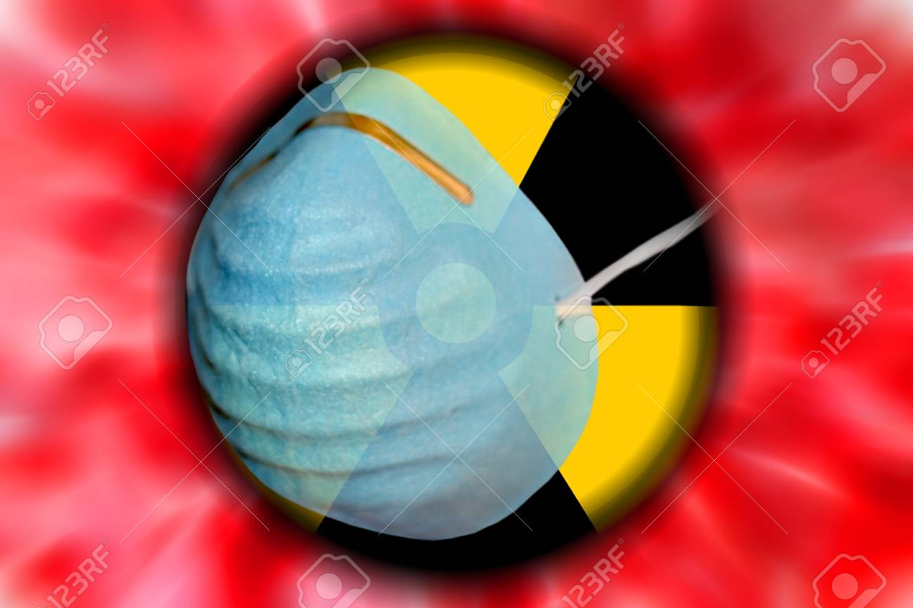 abstract scene as background radiation danger Stock Photo - 8582125