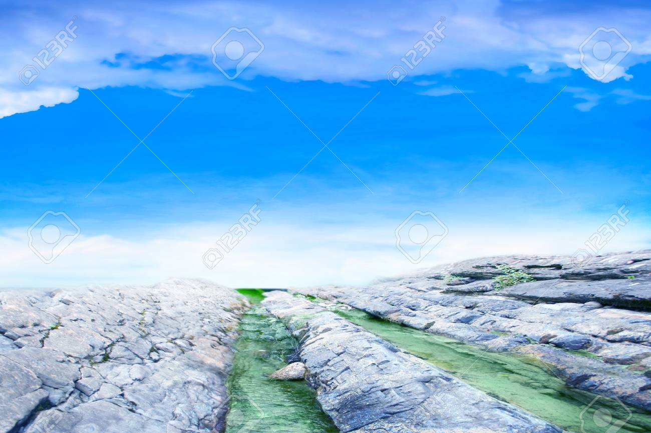 abstract scene with mountain stream as travel background Stock Photo - 9492407