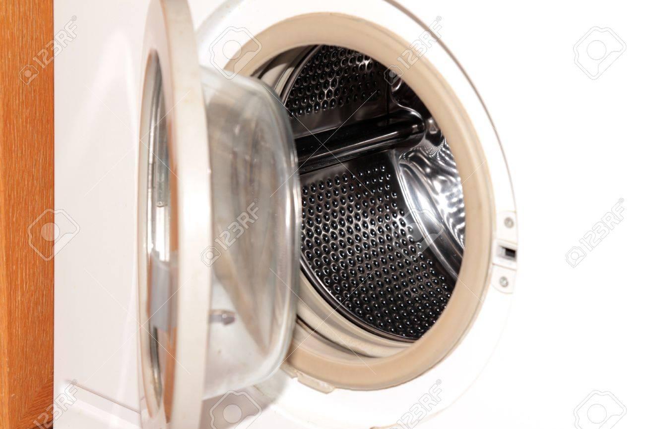 scene openning door washing machine Stock Photo - 11730668