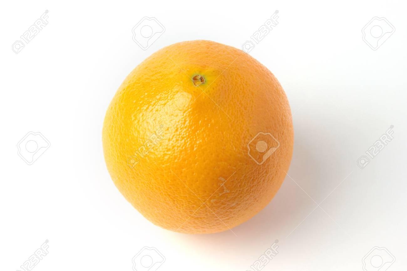 ripe beautiful orange as symbol season harvest Stock Photo - 17115557