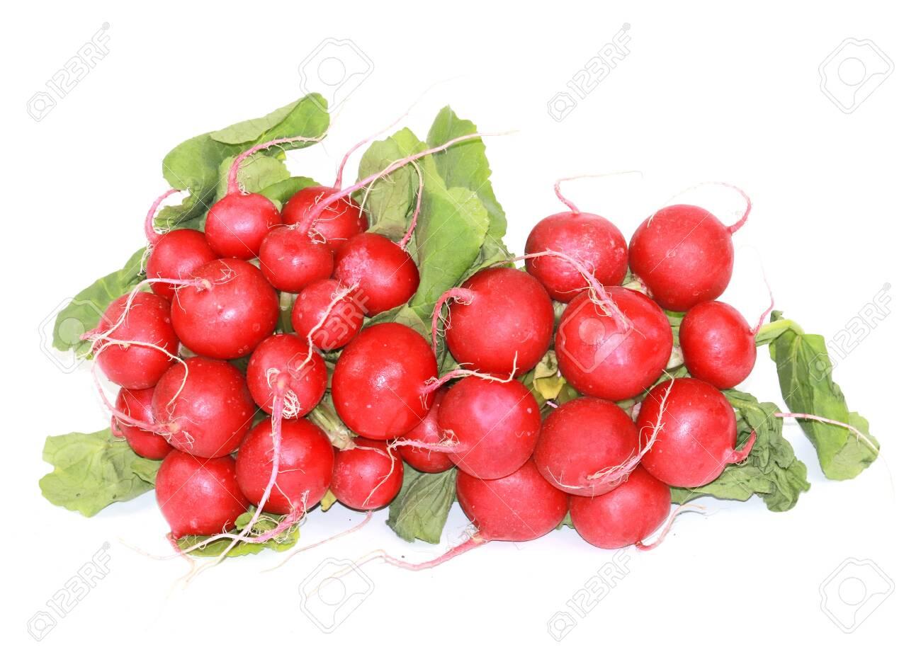 Tubers of ripe radishes - 120924203