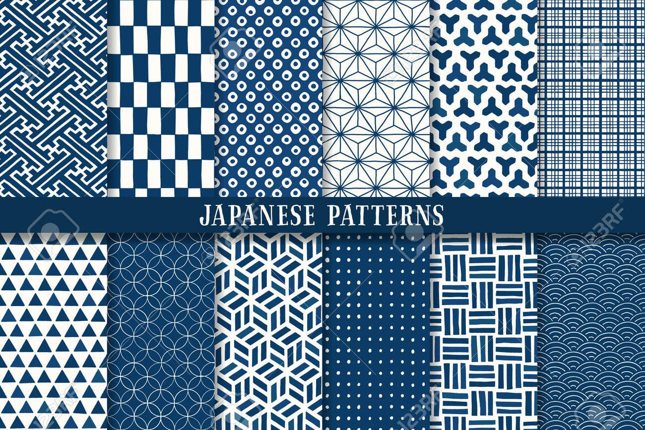 seamless japanese traditional pattern - 169579905