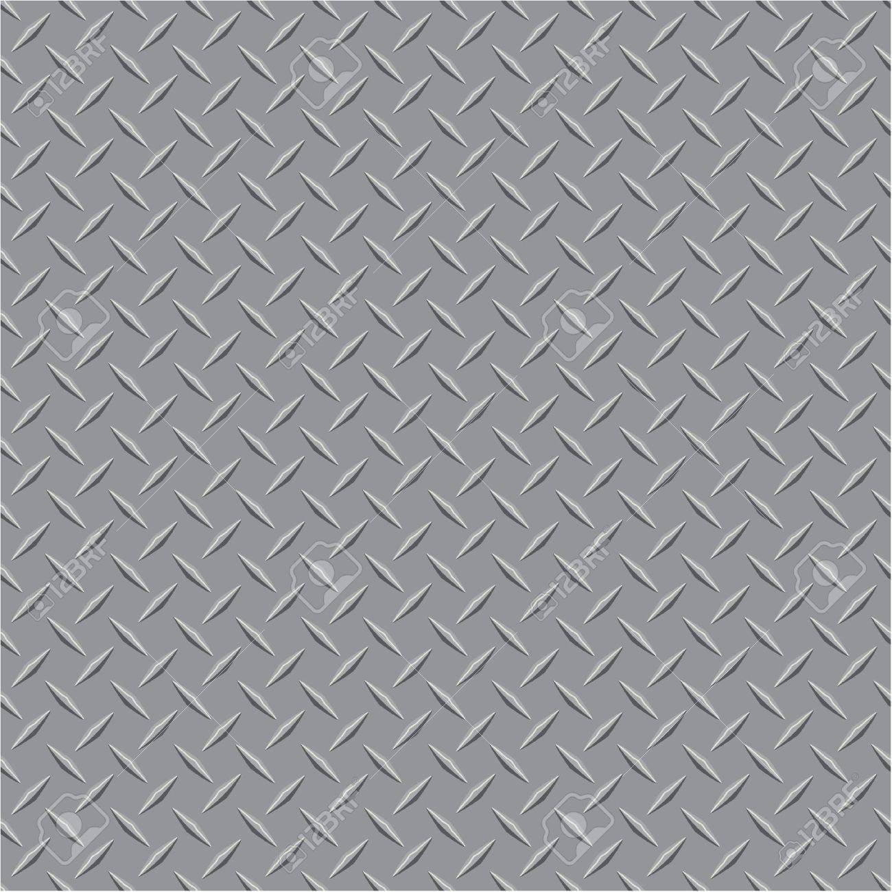 vector illustration of the metal plate Stock Vector - 11998304