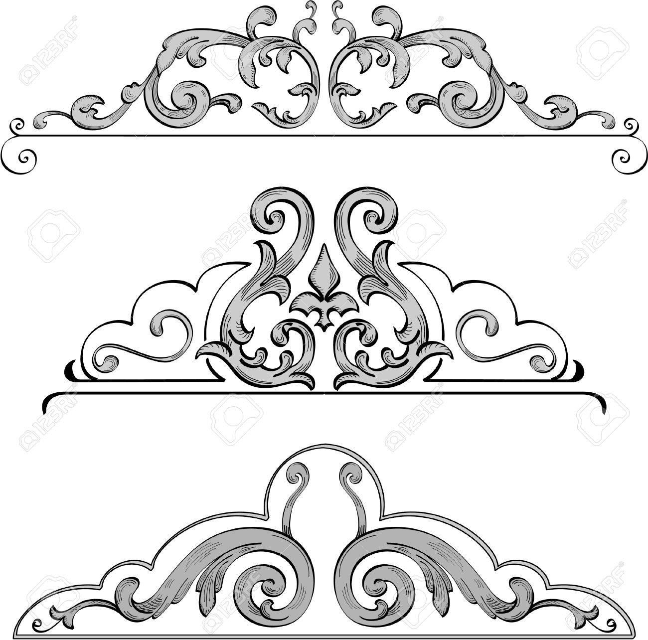 design elements for nice frames Stock Vector - 11998257