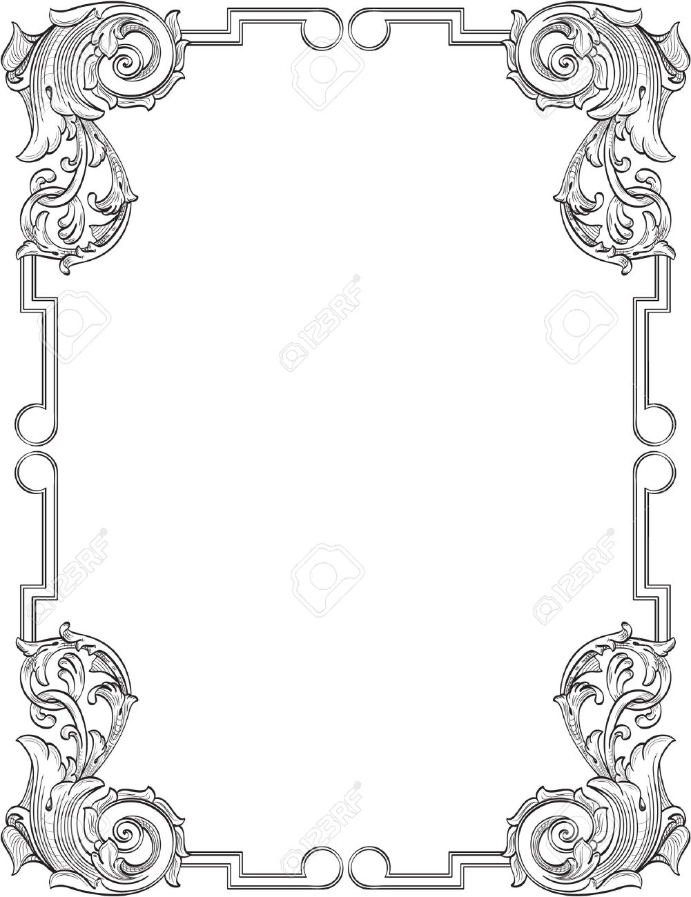 Vintage frame Stock Vector - 12481746