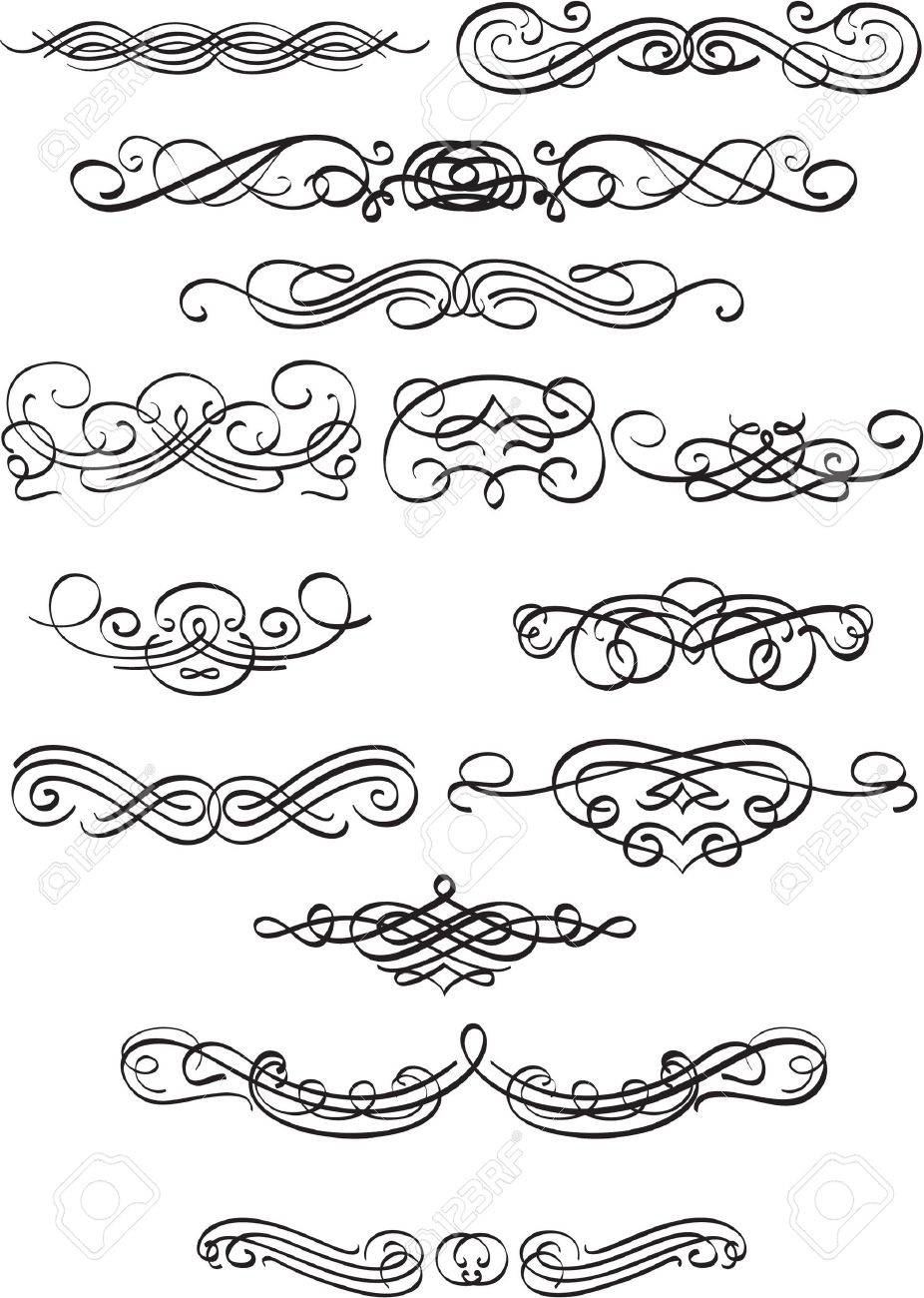 Book scrolls isolated on white Stock Vector - 12481624