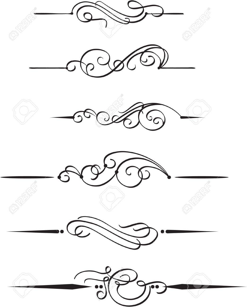 The set book design elements Stock Vector - 14335735